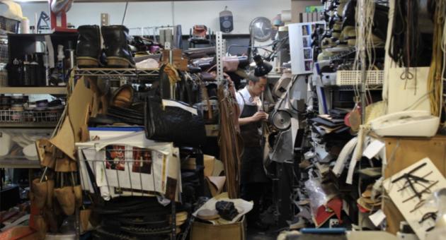 靴や鞄のメンテナンス店 靴の美容室